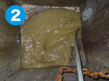大阪府枚方市の排水詰まり・排水トラブル対応なら株式会社ワイエスの排水管清掃の実績(外部会所排水詰まり)